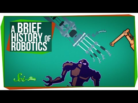 A Ten-Minute History of Robotics