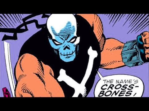 Crossbones: Comic Book Origins