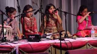 danceShala - Rhythm of Roots - Indian Classical Singing by Students - 15/12/2013