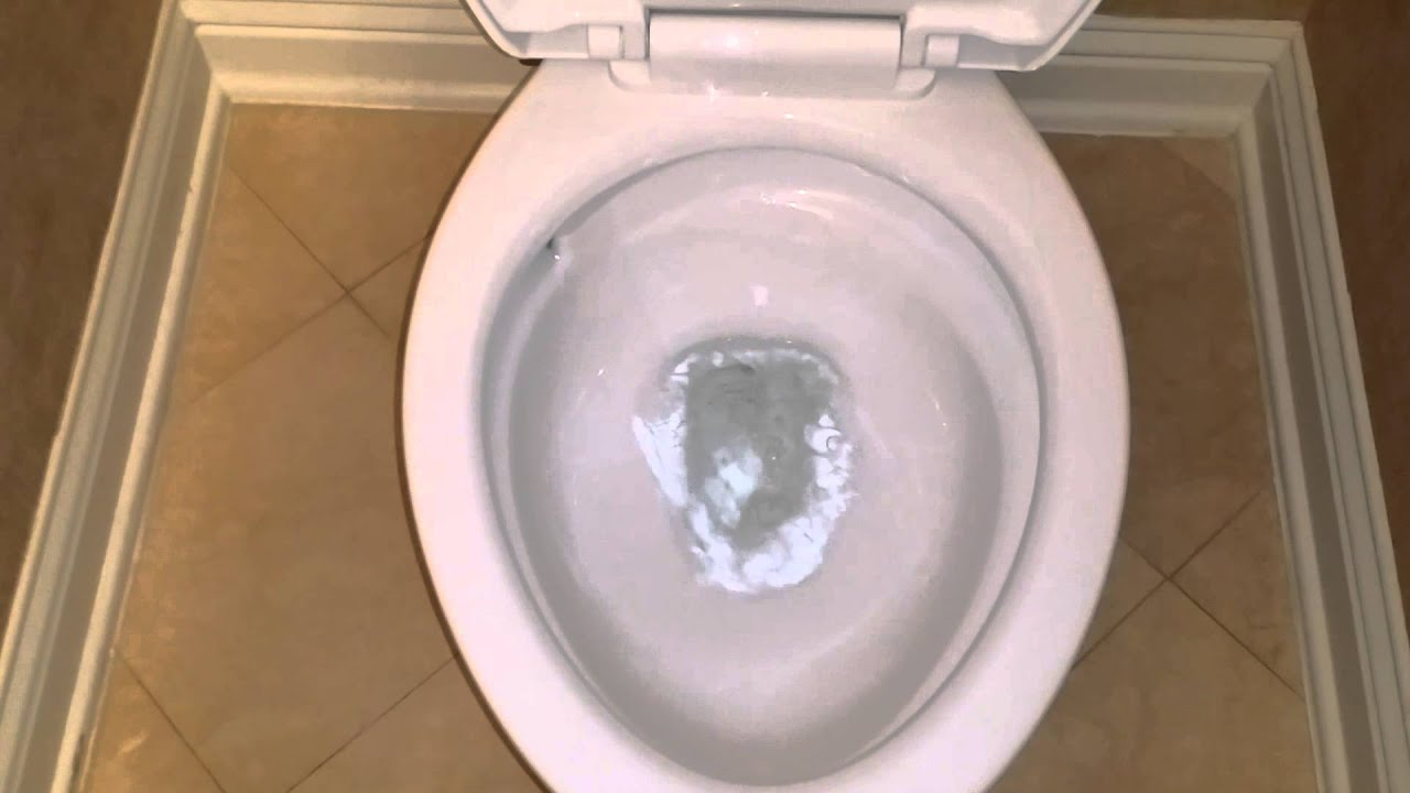 American Standard Optum VorMax Toilet in Action Clip FAIL