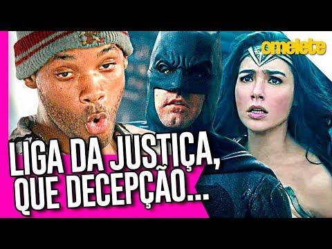 É OFICIAL: LIGA DA JUSTIÇA FRACASSOU!