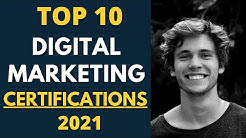 Top 10 Digital Marketing Certifications for 2019 | Career in Digital Marketing 2019 | Marketing Stud