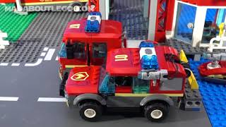 LEGO City Fire Station 60215 thumbnail