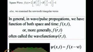 Mod-02 Lec-10 Oscillators, Resonances, Waves(iv)