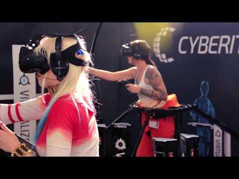 Cyberith Virtualizer Virtual Reality Multiplayer The Art Of Fight Intense Warfare