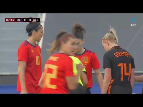 Spain Women - Netherlands Women (Oranjeleeuwinnen) || Friendly || 09-04-2021 || FIRST HALF