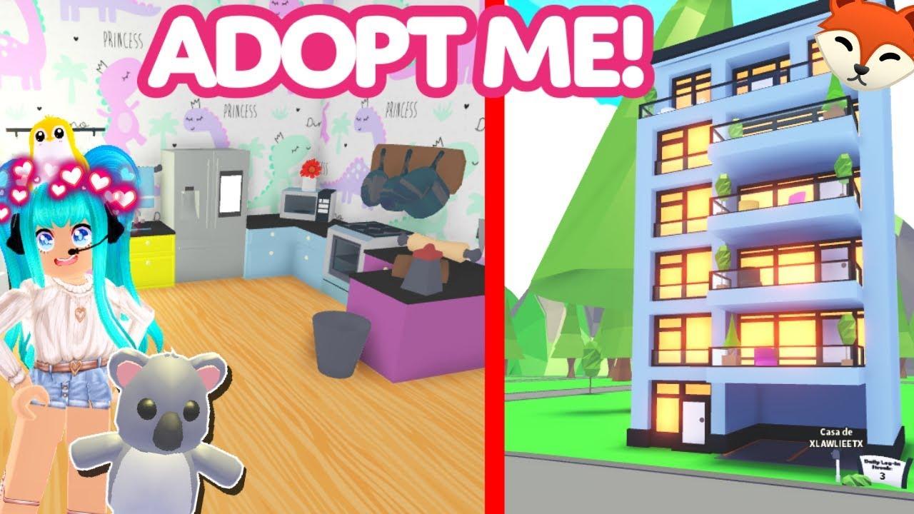 Compro La Nueva Mansión Moderna De Adopt Me En Roblox Los Nuevos Departamentos En Adopt Me Ya Estan Disponibles Roblox Youtube