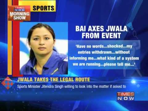 Jwala takes Badminton Association of India to court