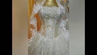 Прозрачное свадебное платье!!! Как???
