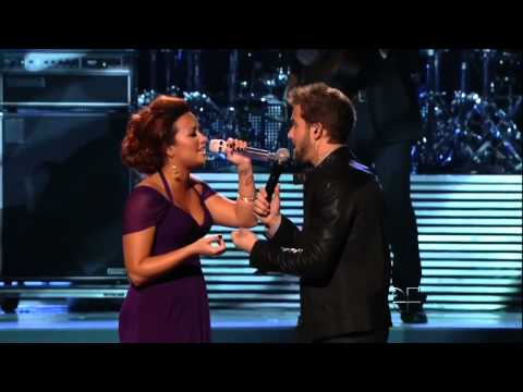 Demi Lovato singing in Spanish with Pablo HD