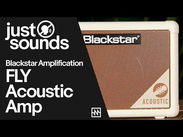 First Look at Blackstar FLY Acoustic Guitar Amplifier