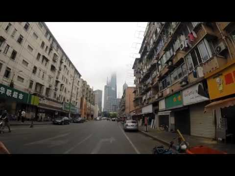 Go Pro - Shanghai biking tour - The contrast inside Shanghai | Monks, towers and narrow streets