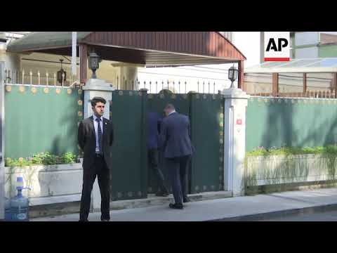 Saudi Consul General leaving residence as Khashoggi search continues