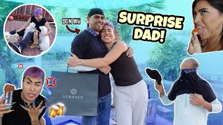 FATHER'S DAY SURPRISE ON DON Wii!! | Louie's Life
