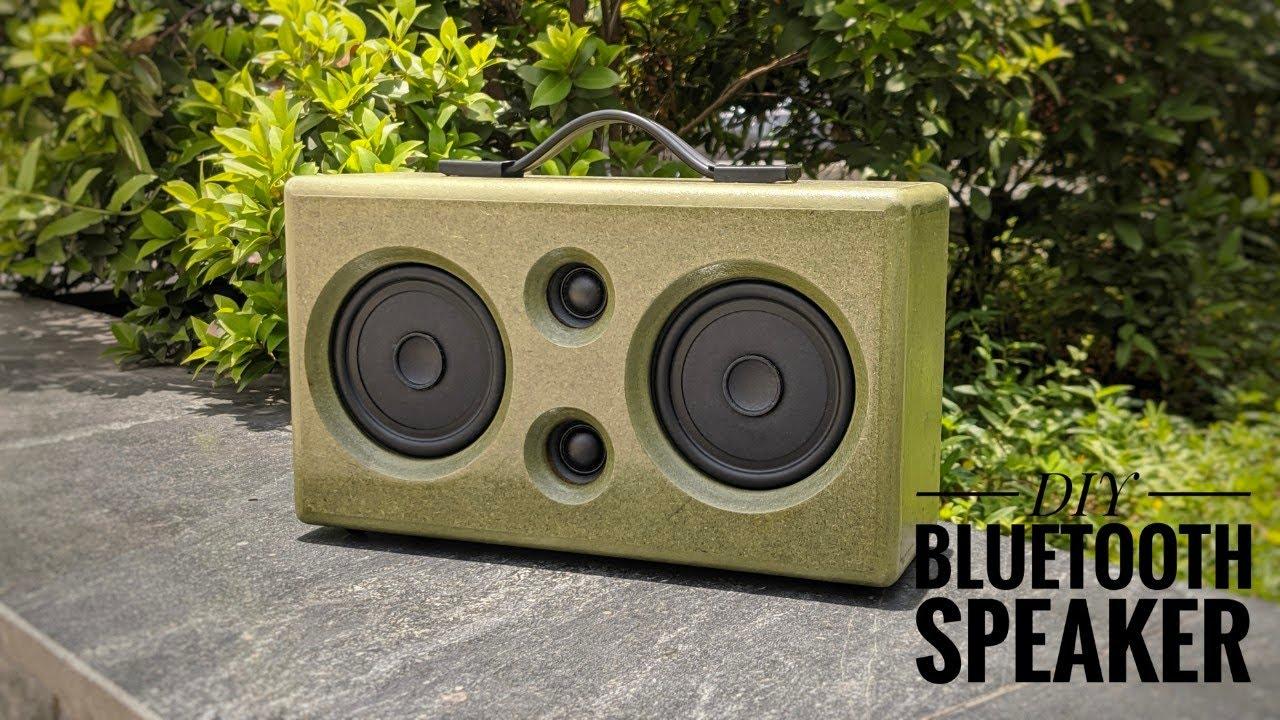 DIY Classic Bluetooth Speaker ( Bass Bass Bass )