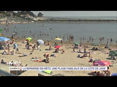 VU D'ICI : La Bernerie En Retz, Une Plage Familiale De La Côte De Jade