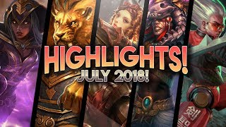 Vainglory Highlights / Funny Moments - July 2018