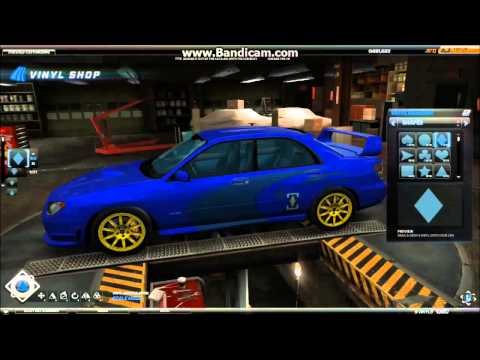 Need For Speed World Subaru Impreza WRX TSI  Project Rally