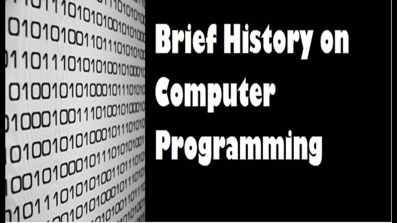 brief history of computer by ajiboye A brief computer history the computer as we know it today had its beginning with a 19th century english mathematics professor name charles babbage he designed the analytical engine and it was this design that the basic framework of the computers of today are based on generally speaking, computers can be.