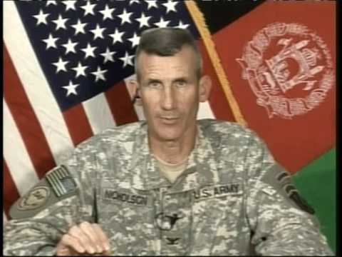 OASD: DOD NEWS BRIEFING WITH COL. NICHOLSON FROM AFGHANISTAN