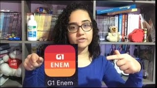 Dica de aplicativo(G1 Enem )