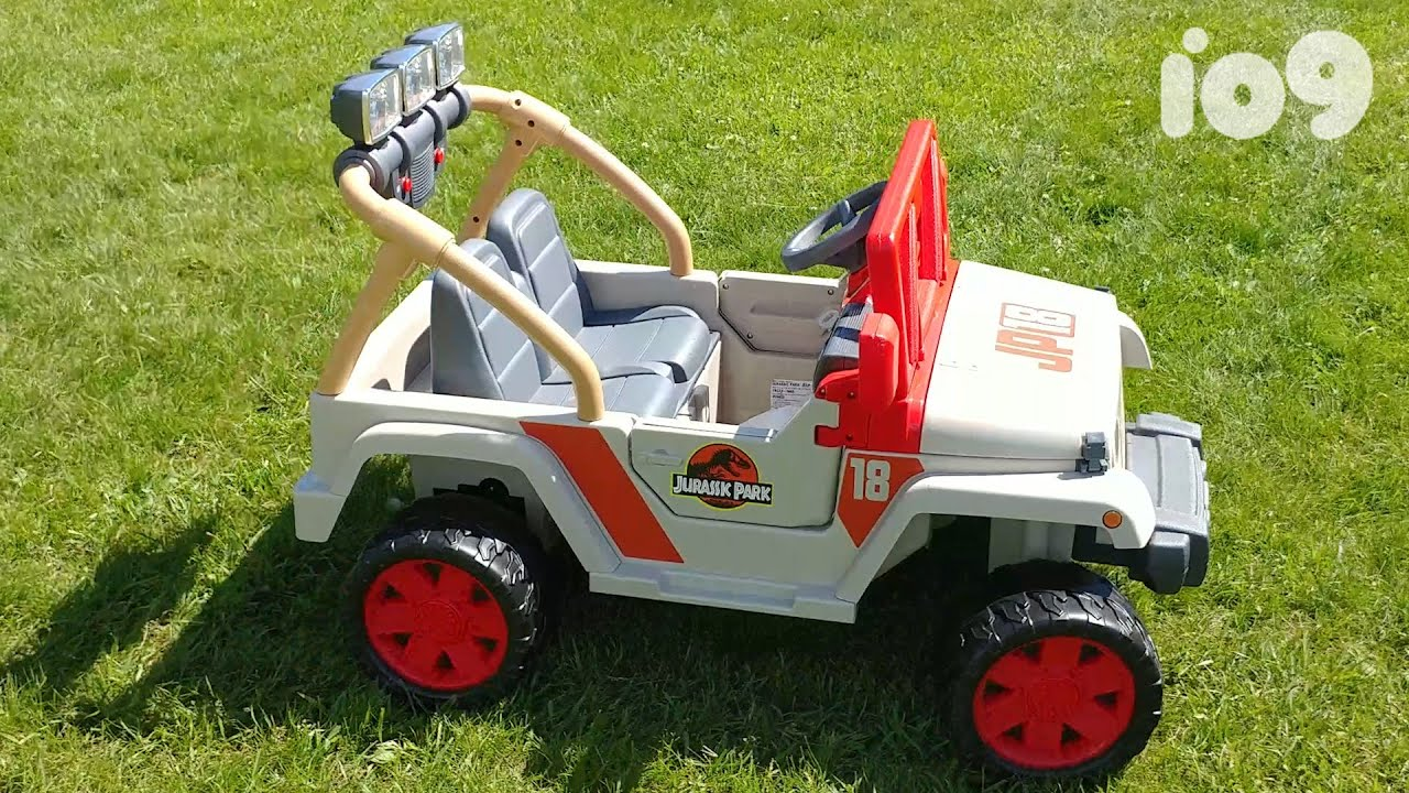 Jurassic Park Power Wheels Jeep Wrangler The Toy You Need Youtube