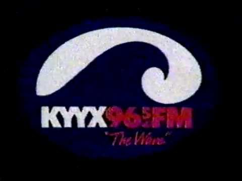 KYYX 96.5 FM 1983 TV commercial