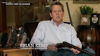 Brian Kemp shotgun ad upsets some Georgia voters