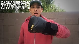 16 Ounce ONX X-Factor Boxing Glove Review