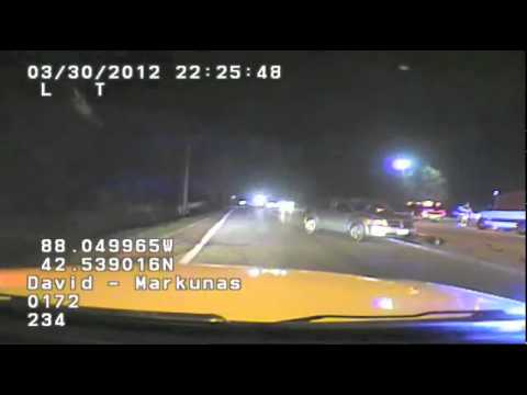 Grayslake police chief arrest video