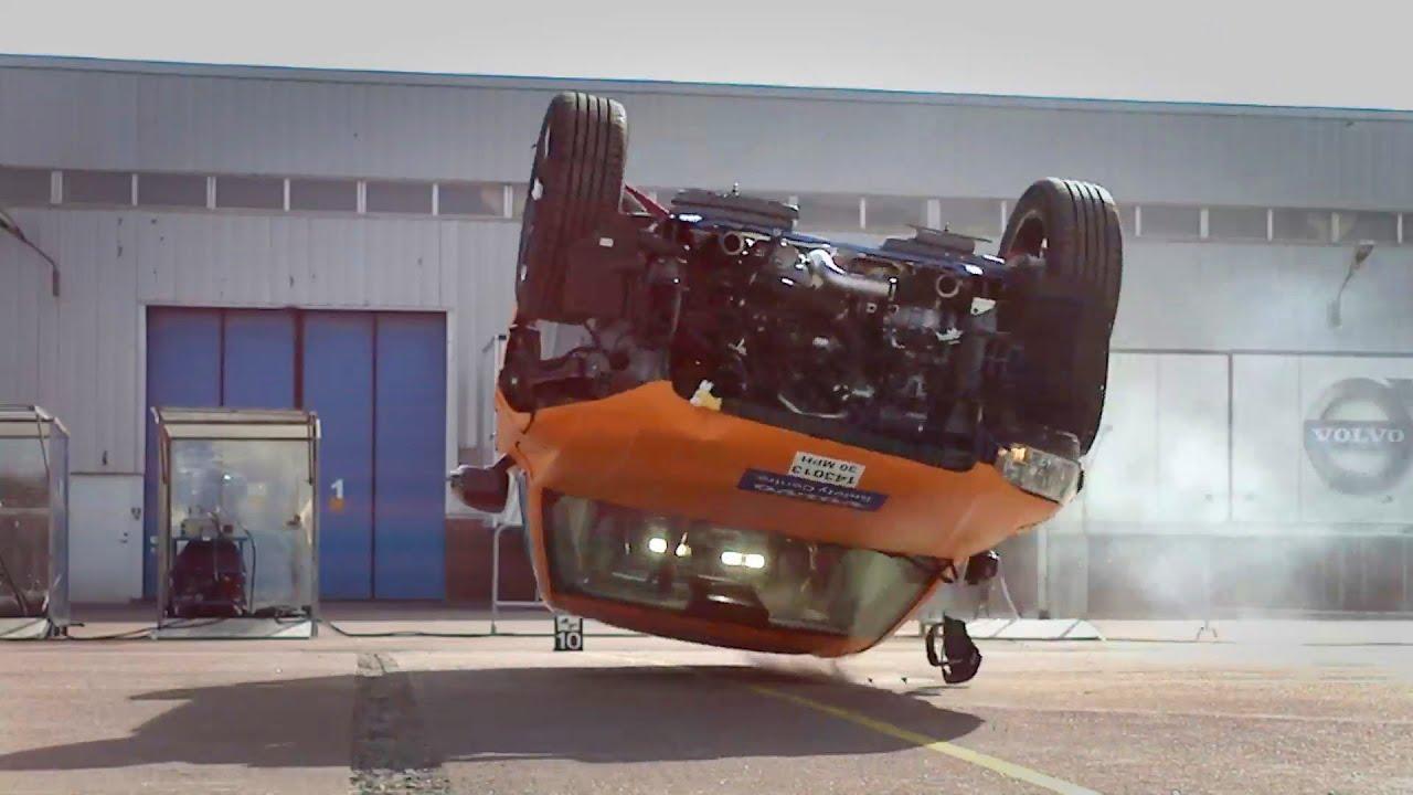 2015 Volvo XC90  CRASH TEST  YouTube