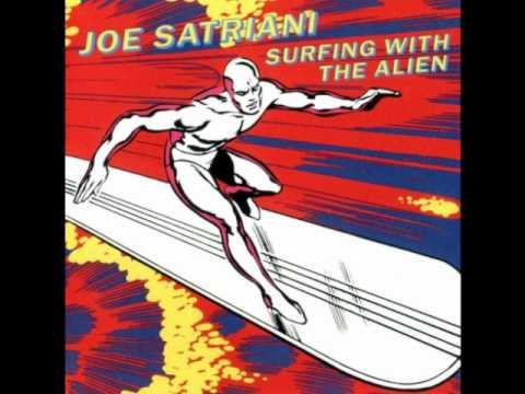 Joe Satriani Surfing with the alien!