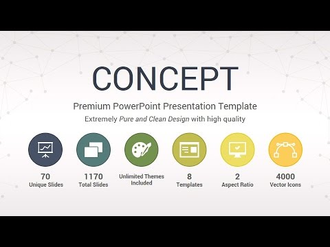 concept powerpoint presentation template youtube