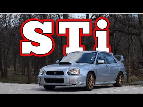 2004 Subaru Impreza WRX STi: Regular Car Reviews