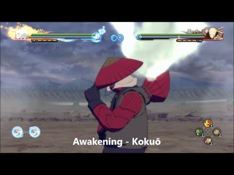 Naruto Shippuden Ultimate Ninja Storm 4 - Han Moveset - YouTube