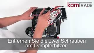 ECAM Antrieb ausbauen-ersetzen-tauschen-einbauen Delonghi Ersatzteile Reparaturanleitung