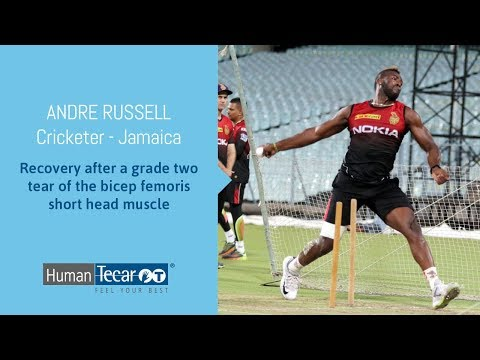 CRICKET: Andre Russell's recovery with Human Tecar MO