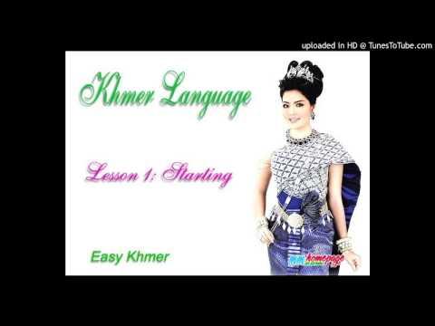 Tự học đàm thoại tiếng Khmer bài 1