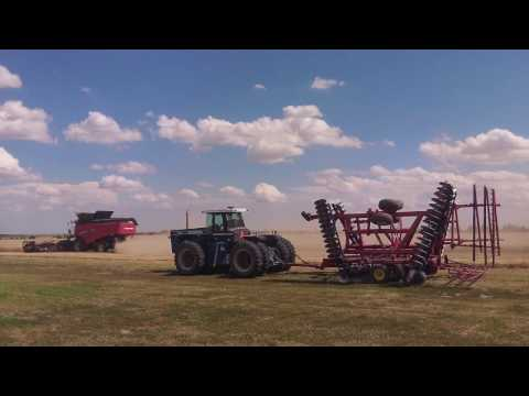 Wheat Harvest 2016 -  Haxtun Colorado