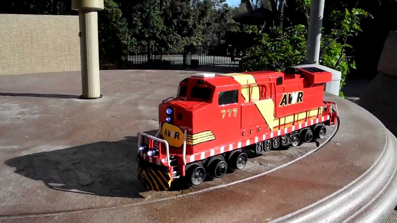 Unstoppable 777 for Geotrax - YouTube