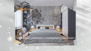 Đắm chìm trong mẫu thiết kế nội thất căn hộ tại Golden West 96m2 nhà anh Hải