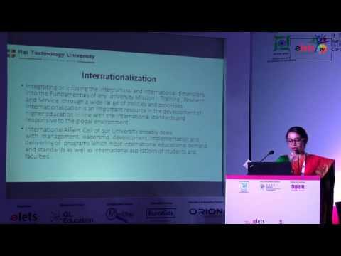 Elets' 7th World Education Summit' 16 - International Edu Initiatives - Rupa Vasudevan, VC...
