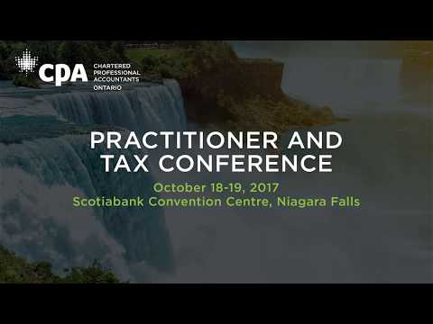 Hear from Julie James at CPA Ontario's Practitioner and Tax Conference 2017