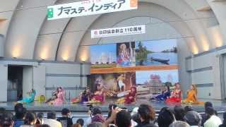 Tumhari Adao Pe Main Vari Vari by Japanese Dancers| Namaste India 2013 | Tokyo Japan