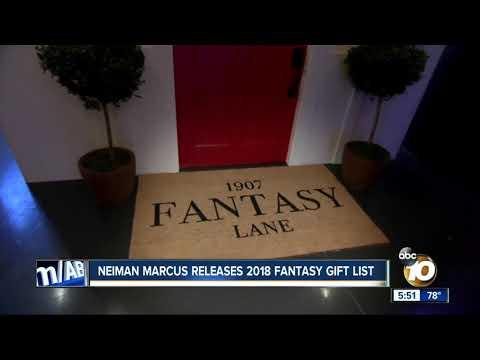 Neiman Marcus releases 2018 fantasy gift list