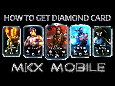 Mortal Kombat Mobile Glitch  How to Get Diamond Card  MK Mobile Latest  Glitch  100% working