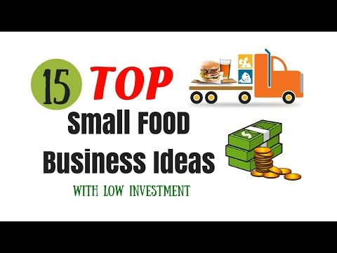 TOP 15 SMALL FOOD BUSINESS IDEAS WITH LOW INVESTMENT