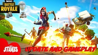 "Fortnite:Battle Royale ""High Stakes"" Update Tonight - High Stakes Gameplay (Update 5.40 Fortnite)"