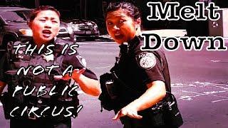 Crazy Sacramento Police Lady W SJVT TCCW N2Film And NateSkates182 1st Amendment Audit