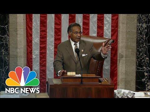 Representative Emanuel Cleaver: 'I Abandon The Chair' Over Partisan Rules Debate  NBC News